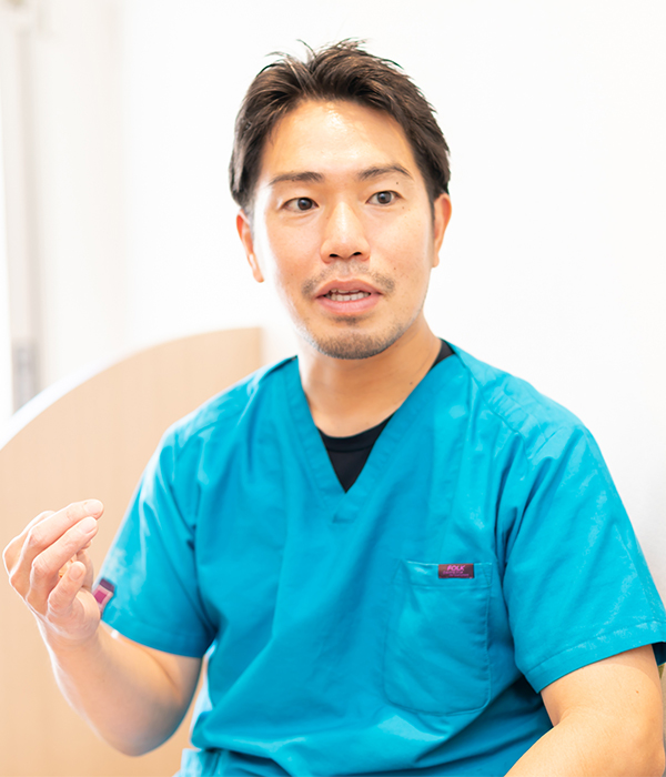 どうして歯科医師になろうと思われたのですか?